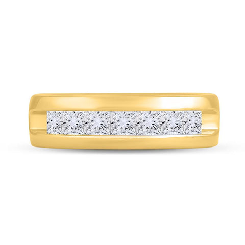1 1/2CT-Diamond FASHION MENS BAND