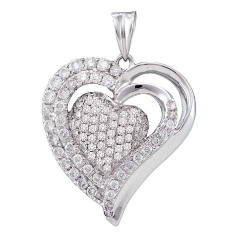 1  CT-Diamond HEART PENDANT