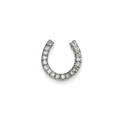 14k White Gold (H/I1 Quality) Diamond chain slide