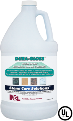 NCL DURA-GLOSS™ -Multi-Speed Buffable Floor Coating (4\1)