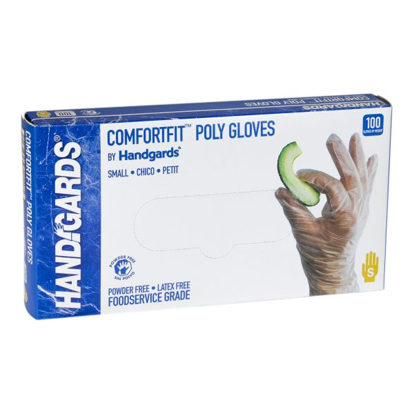 Large ComfortFit Poly Gloves (Powder Free)