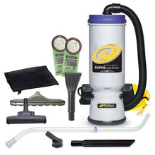 Load image into Gallery viewer, Super CoachVac Backpack Vacuum w/ Residential Cleaning Service Tool Kit
