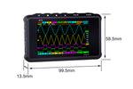 Load image into Gallery viewer, Portable LCD 4 channel Digital Oscilloscope DS213 15MHz 100MSa/s Models