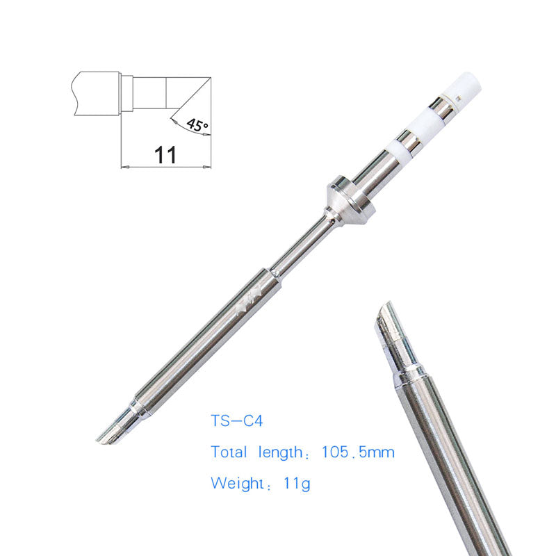 Mini Replacement Iron Tips 9 Types For Digital Soldering Iron TS100