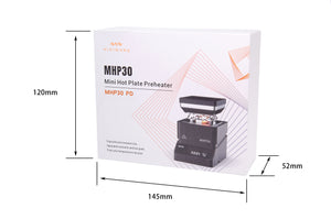 MHP30-PD Mini Hot Plate Preheater & PD Plug