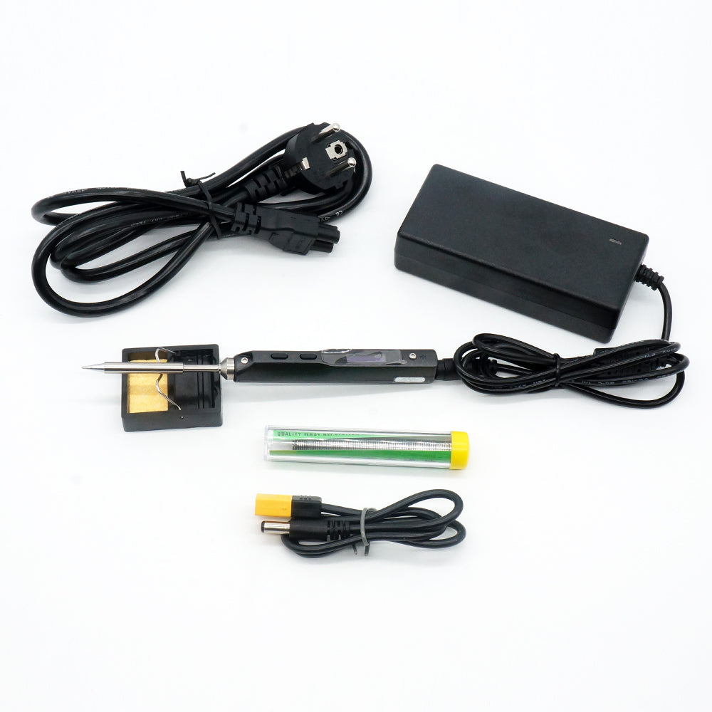 Mini Digital Soldering Iron TS100 B2 / BC2 / I tip Set & Power Supply