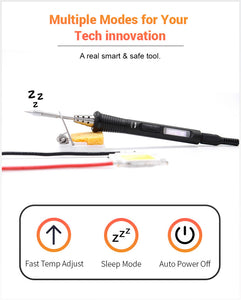 Mini TS80P More Tool Set Portable Digital Soldering Iron & Plug Adaptor