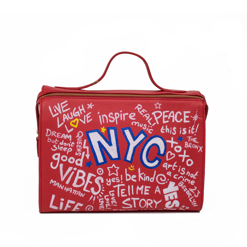 The Meira NYC Graffiti Bag