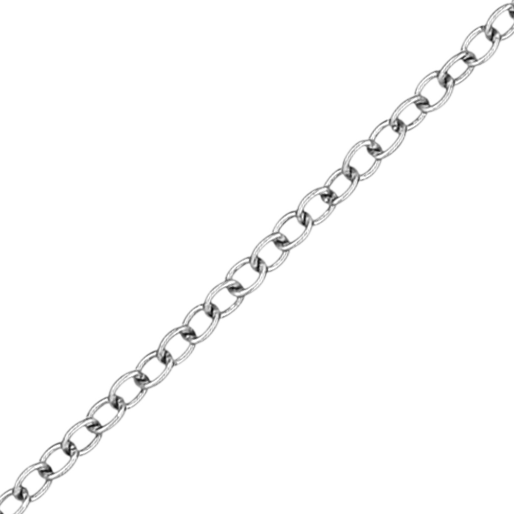 14 kt Chain White Gold
