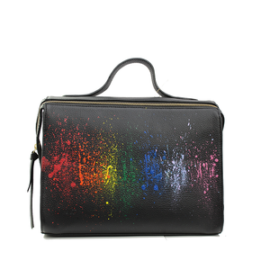 The Meira Rainbow Splash Bag