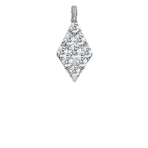 Pave White Gold Diamond