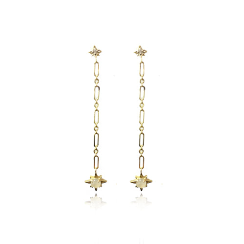 Starburst Drop Earring