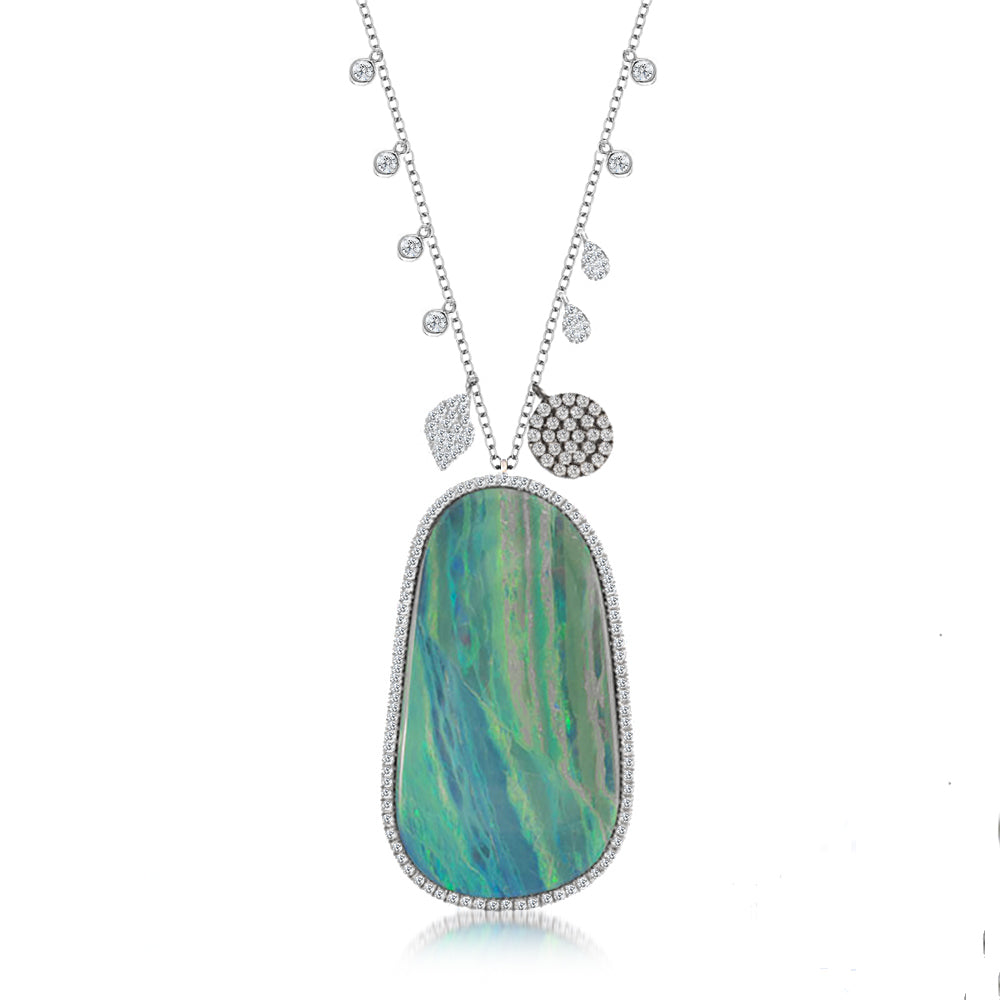 Opal Statement Necklace