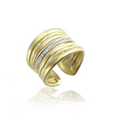 Yellow Gold Diamond Gold Ring