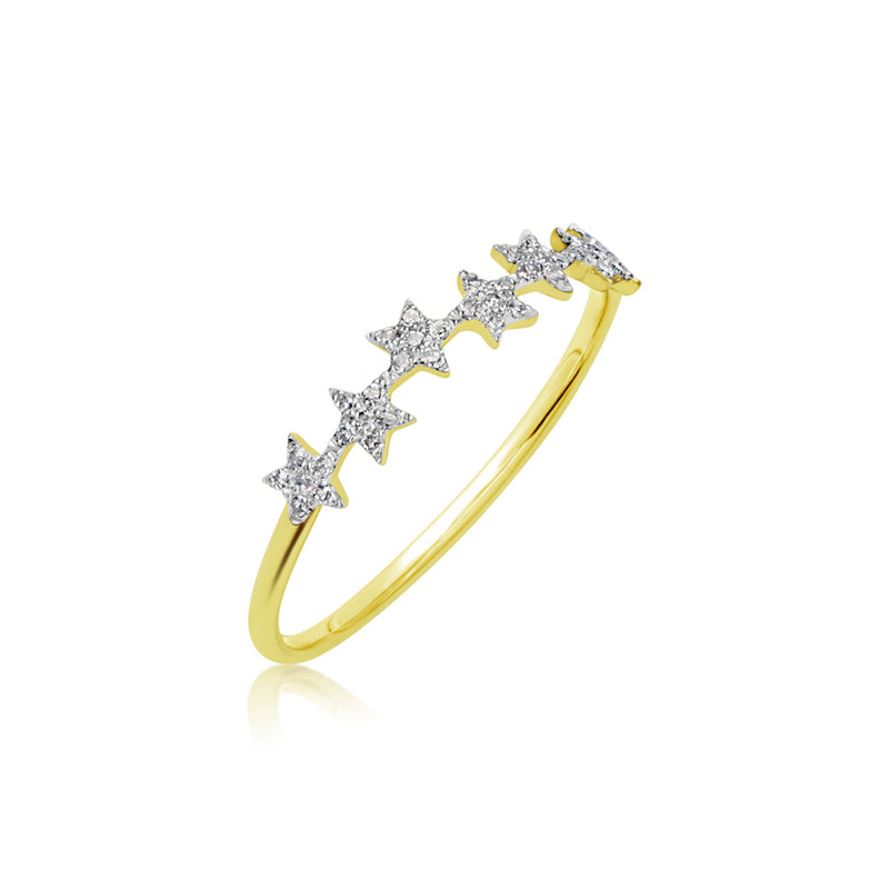 Super Dainty Star Ring