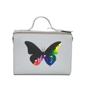The Meira Black Drip Butterfly Bag