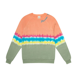 Limited Edition Tye Dye MEIRAT  sweatshirt by I Stole my Boyfriend's Shirt ORANGE