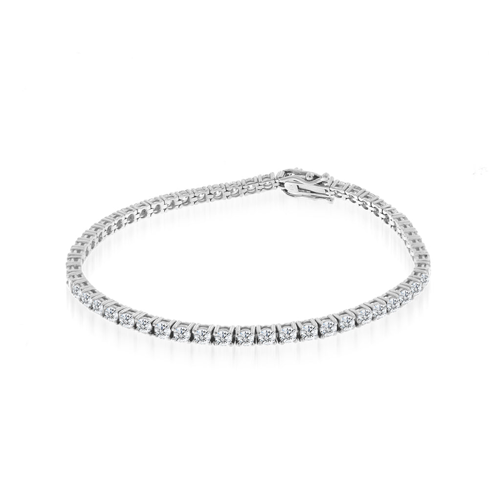 Chunky Diamond Tennis Bracelet