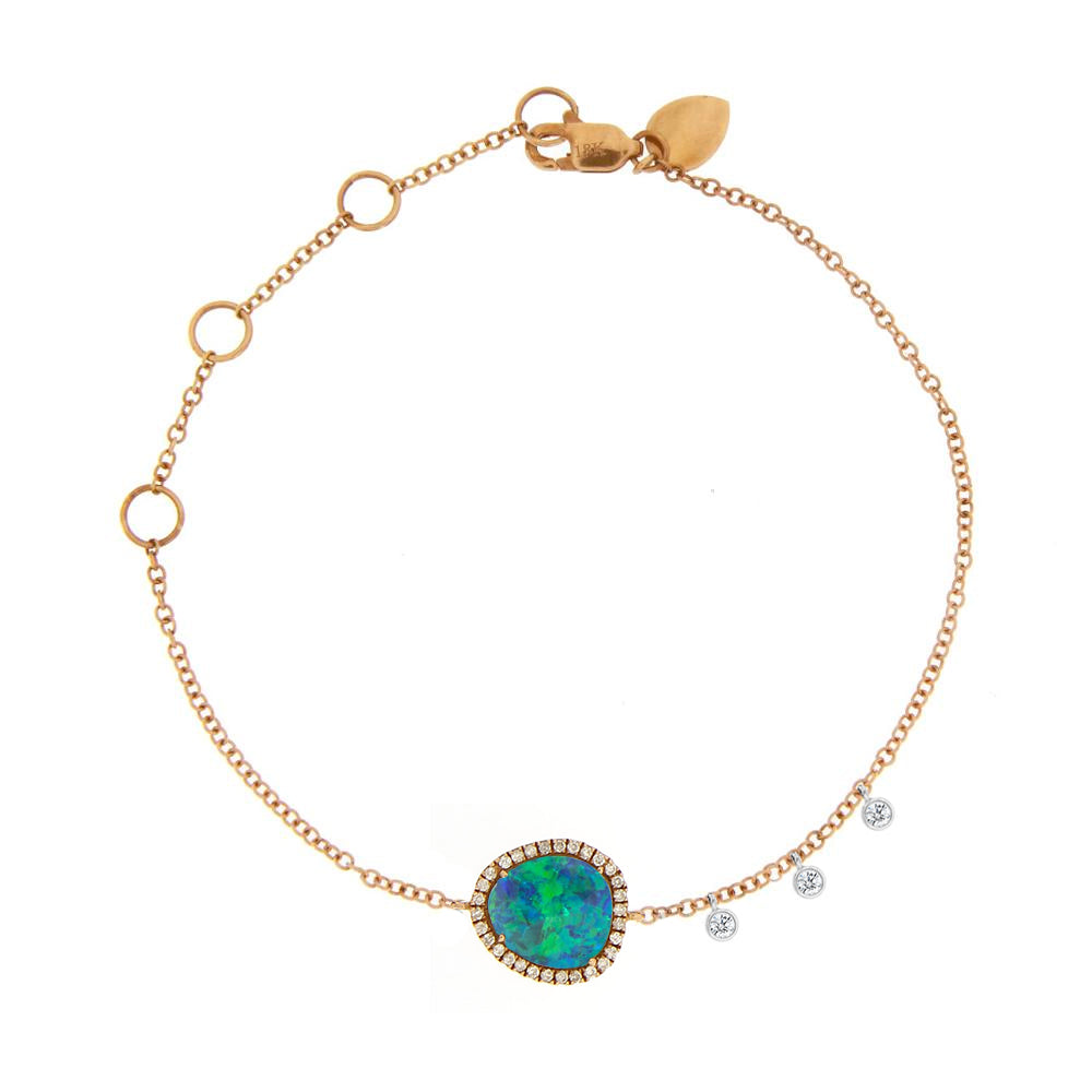Rose Gold Signature Opal Bracelet