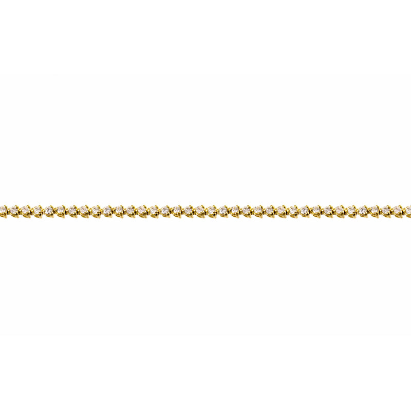 Diamond Tennis Rose Gold Bracelet