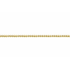 Diamond Tennis Yellow Gold Bracelet
