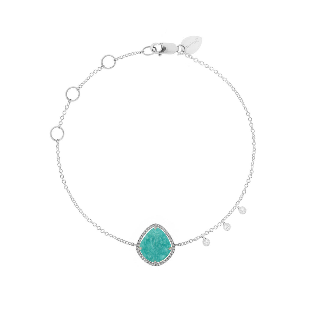 Amazonite Rose Gold Bracelet