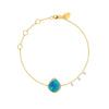 Opal Yellow Gold Bracelet
