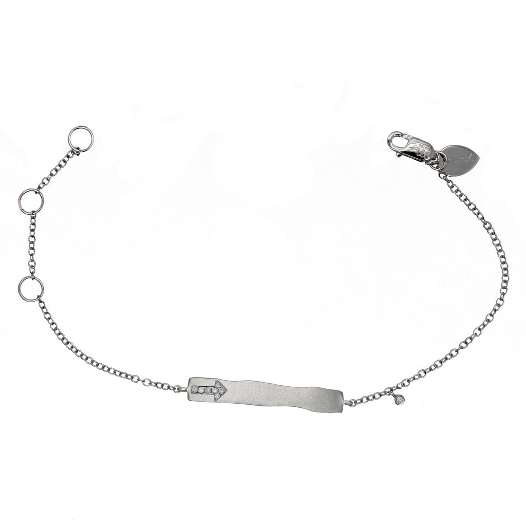 girls diamond arrow bracelet