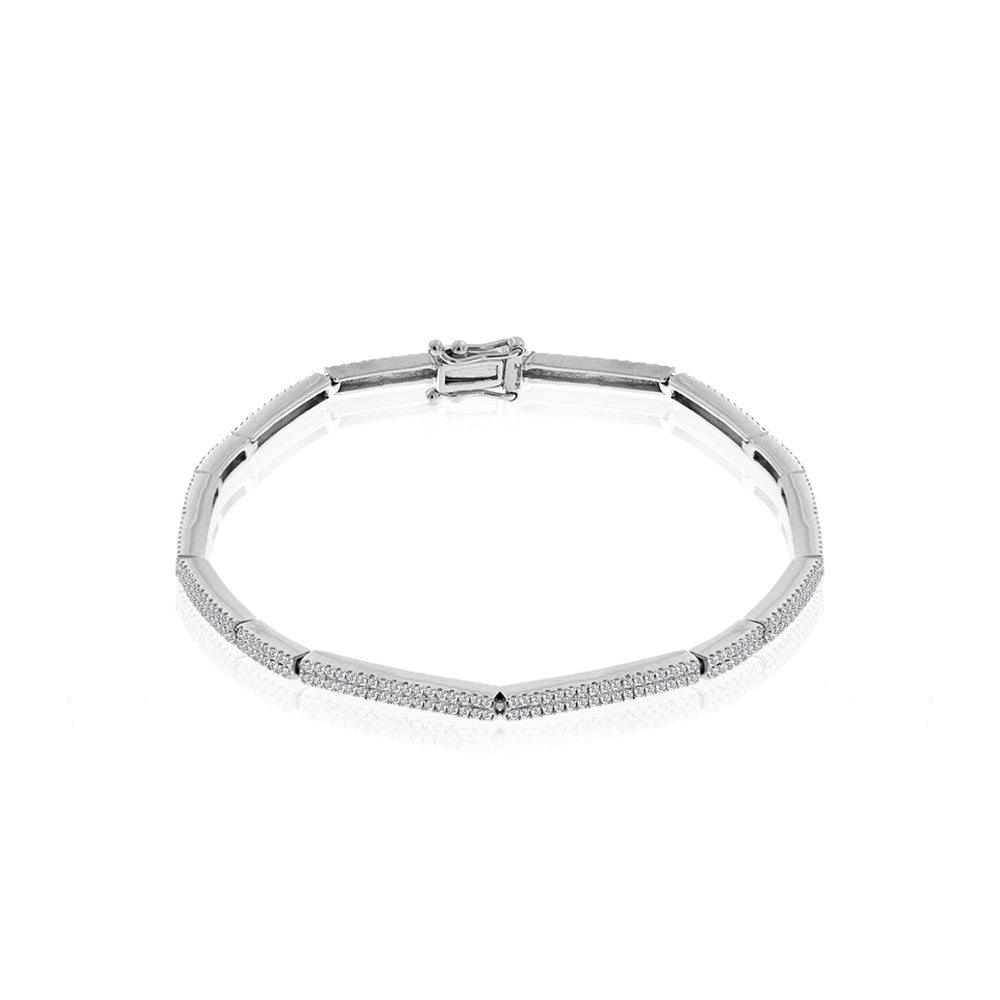 diamond tennis bracelet-Meira T