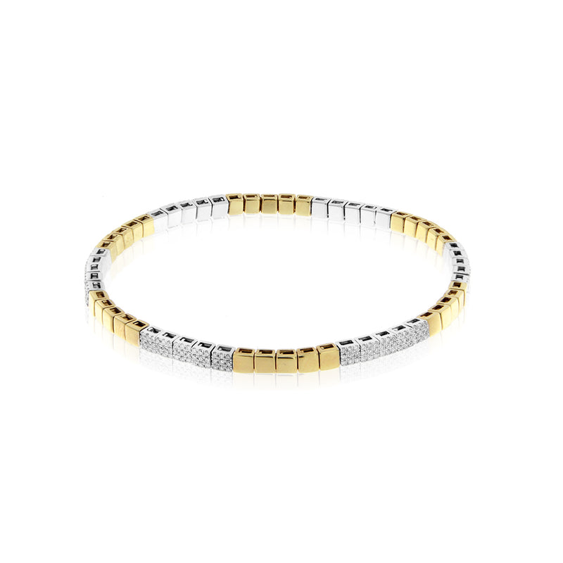 Stretch Diamond Bracelet