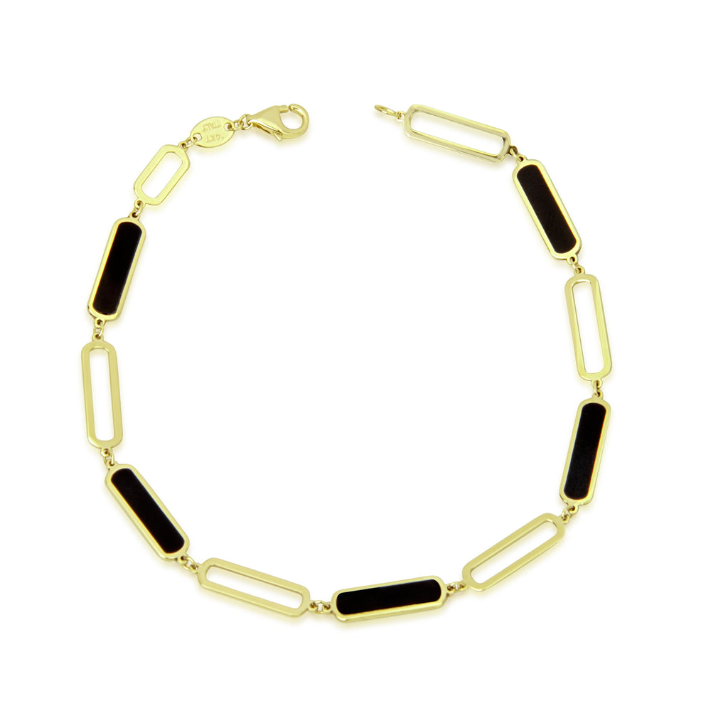 Enamel and Gold Bracelet