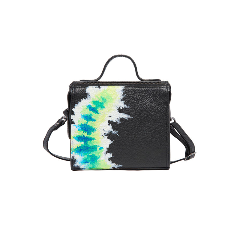 Copy of The Mini Meira Flourescent Green Tie Dye Bag
