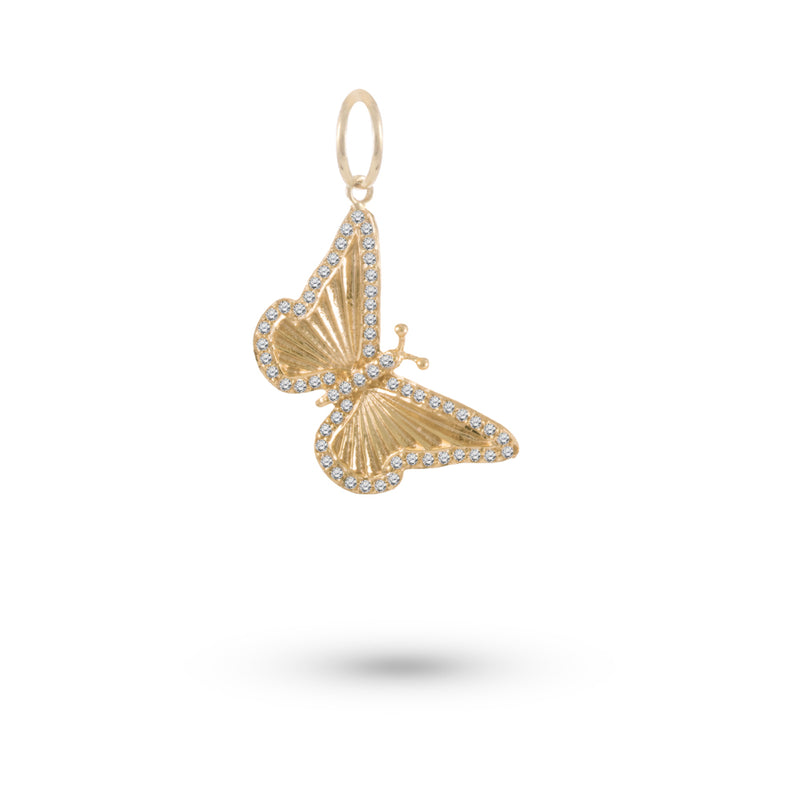 Butterfly Diamond Charm