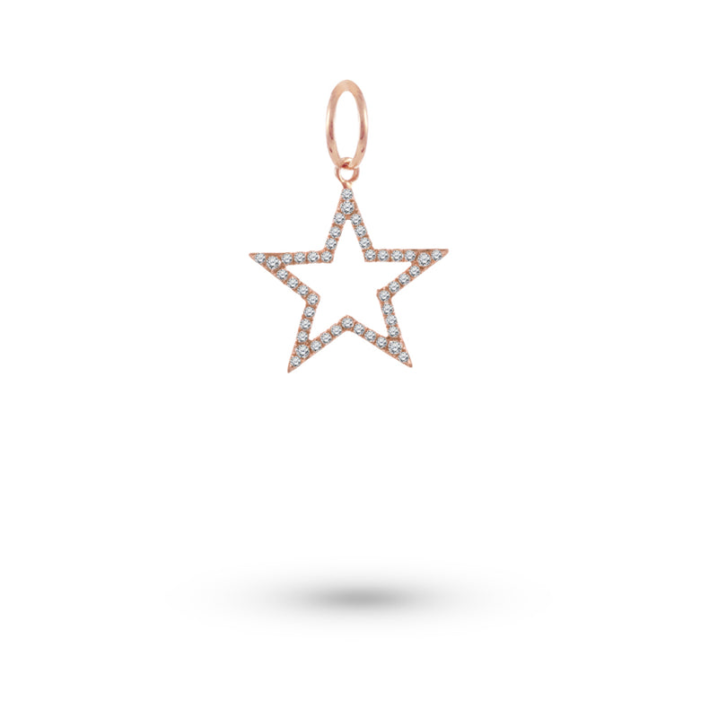 Star Diamond Charm