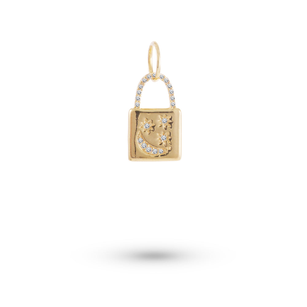 Locket Diamond Charm