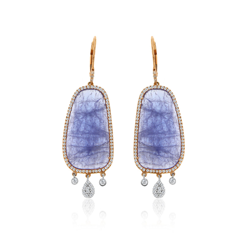 Majestic Tanzanite Earrings