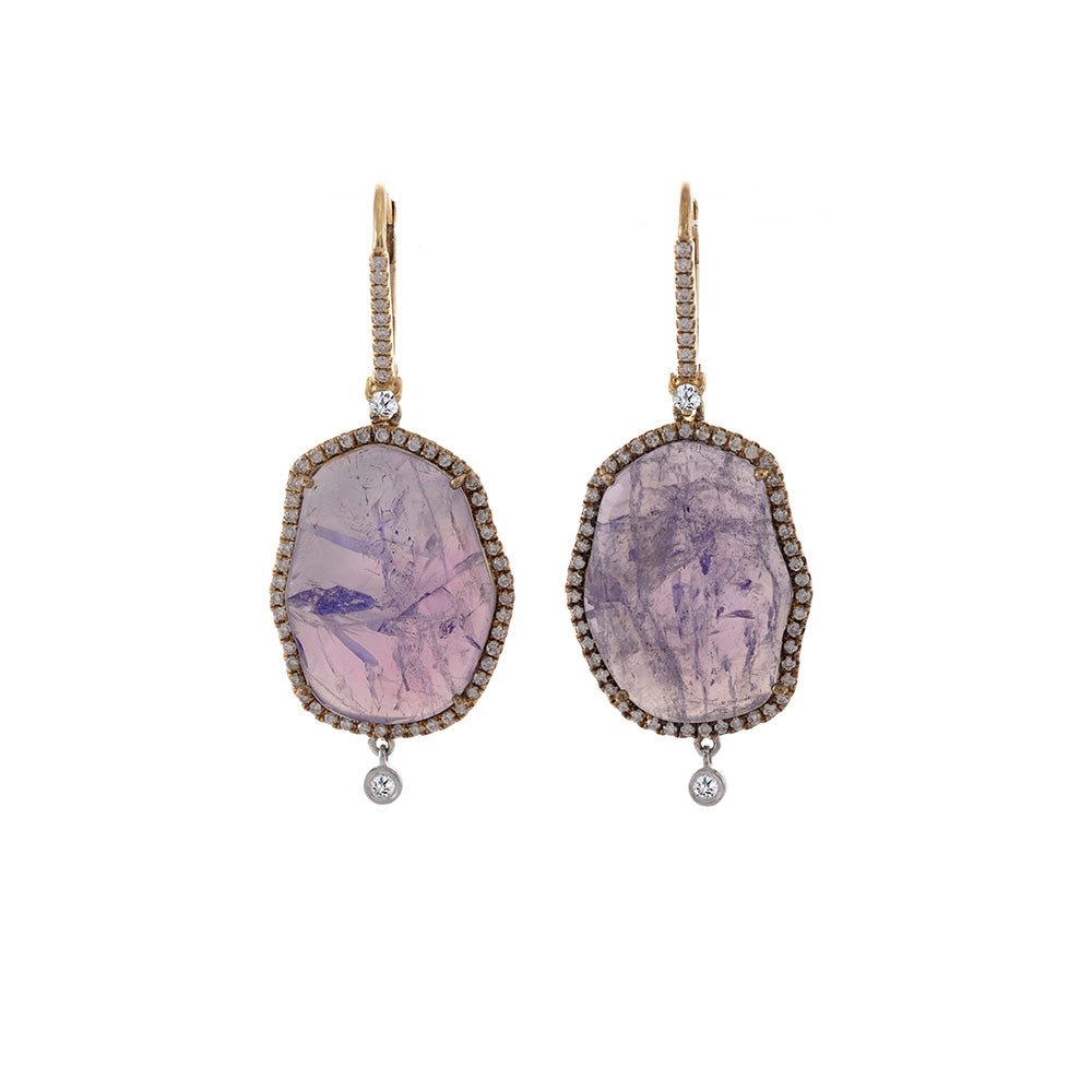 Tanzanite Drop Earrings LAST ONE