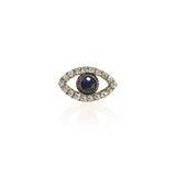 diamond Evil Eye Stud