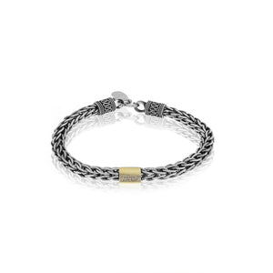 silver and gold diamond bracelet