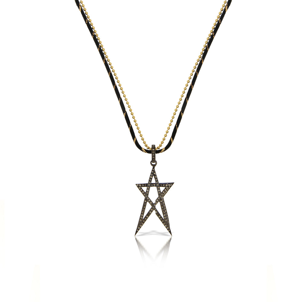 Star Double Chain Necklace