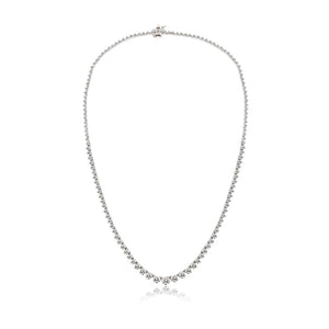 4 carat Diamond Tennis Necklace