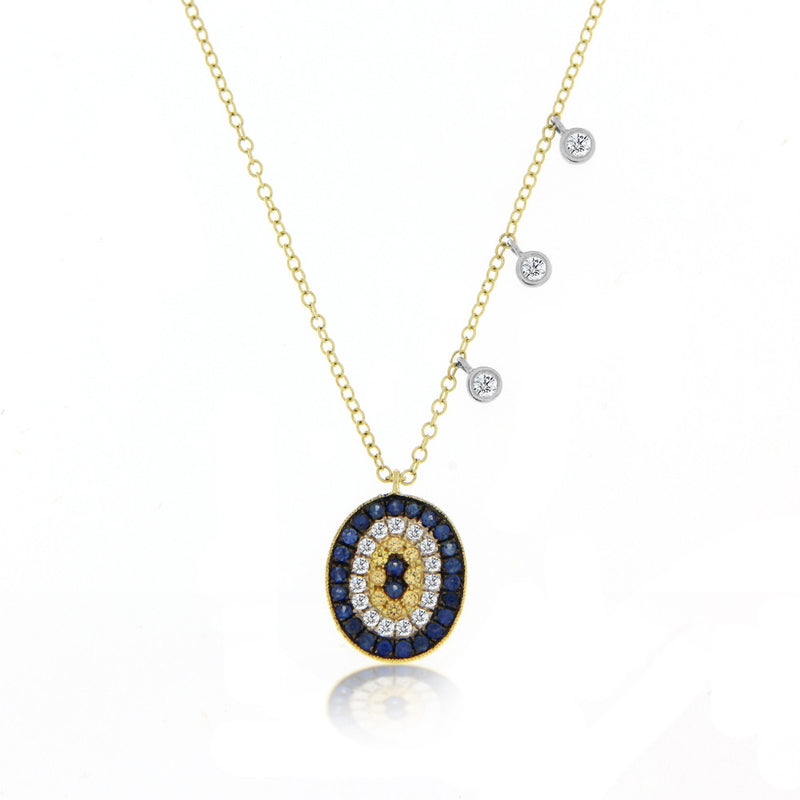 Evil Eye Diamond Necklace