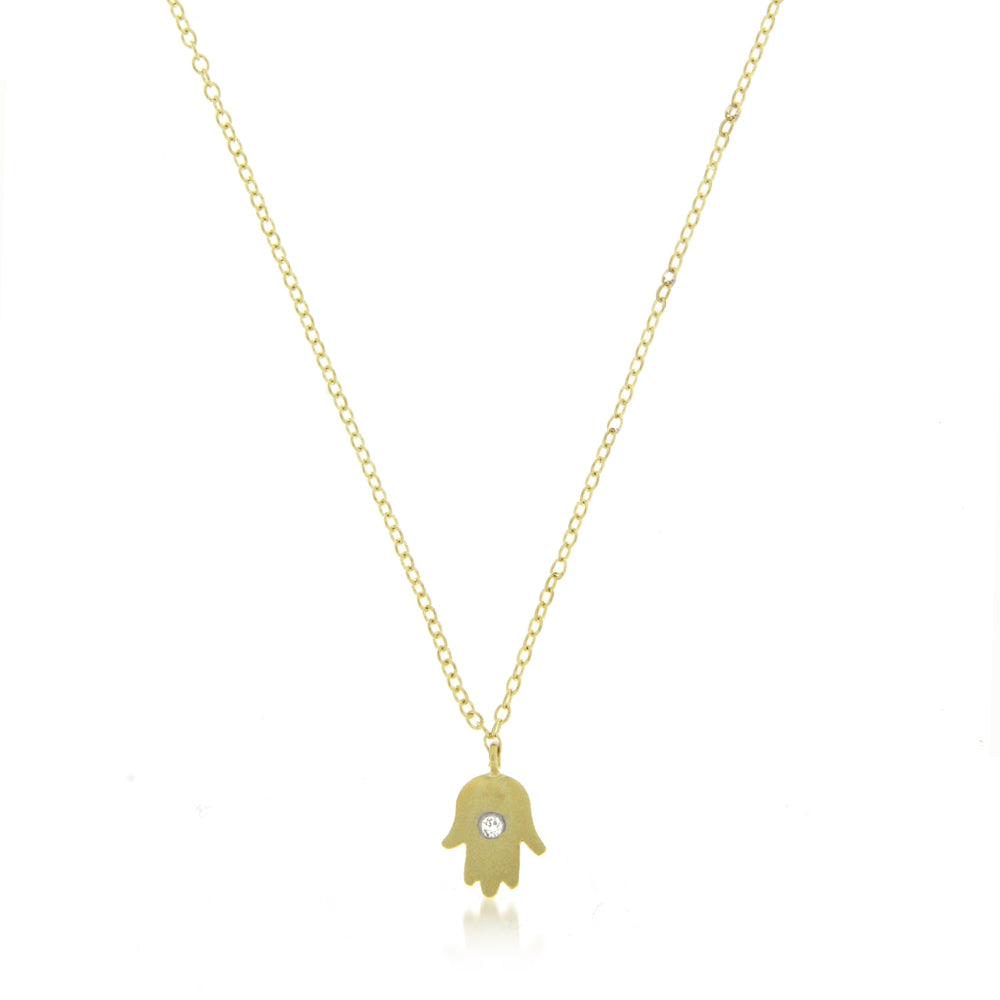 necklace hamsa wh hand diamond p gold