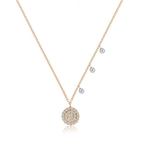 Rose Meira T Signature Disc Necklace