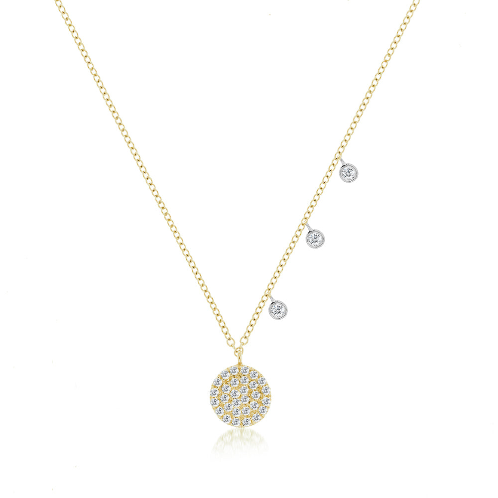 Yellow Meira T Signature Disc Necklace