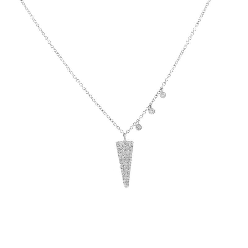 Diamond Dagger Necklace LAST ONE