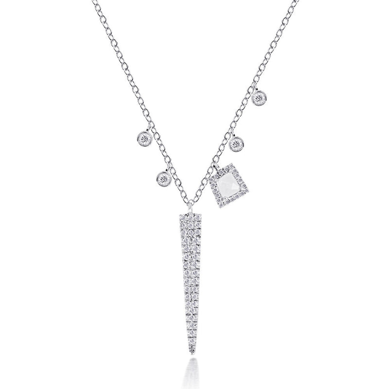 diamond dagger necklace