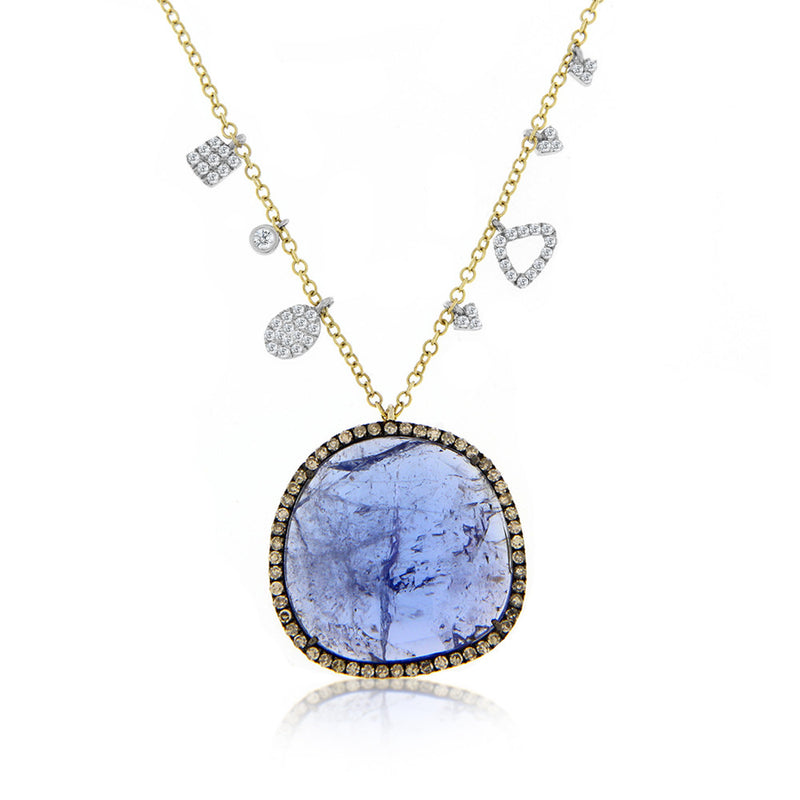 Tanzanite and Diamonds Necklace