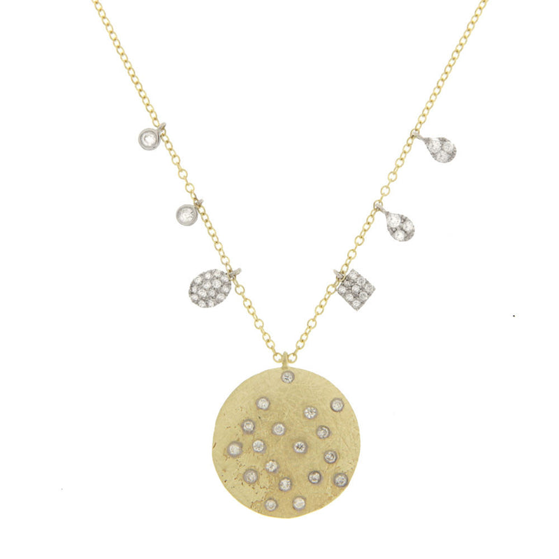 Charmed Disc Necklace
