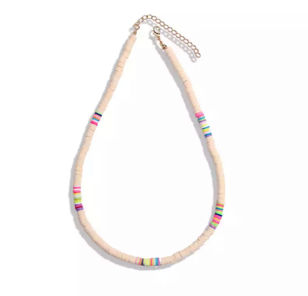 pink bead necklaces